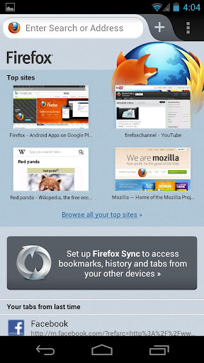 Firefox for Android Firefox Mobile 14 for Android Released