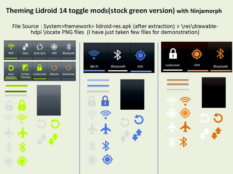 lidroid HOW TO Edit System APK Files On Your Phone Using NinjaMorph