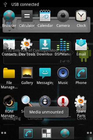 HTC Explorer CyanogenMod
