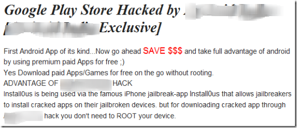 Android India hack thumb Google Play Store Hack Lets You Download Paid Apps for Free