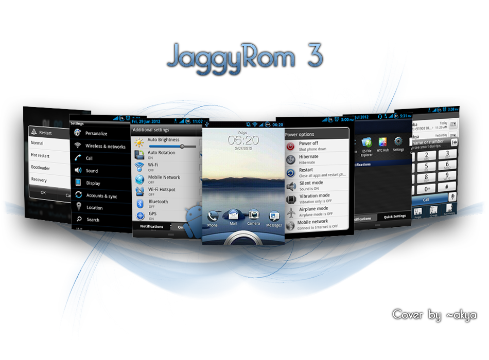 JaggyRom for HTC Explorer