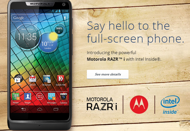 root Motorola RAZR i