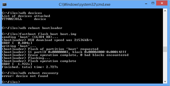 jo4vm Root & Flash ClockworkMod Recovery (CWM) To Your Sony Xperia U ST25 Running ICS