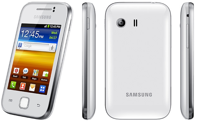 Samsung Galaxy Y white header original Install Windows 8 Themed Custom ROM on Samsung Galaxy Y