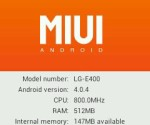 MIUI For LG Optimus L3