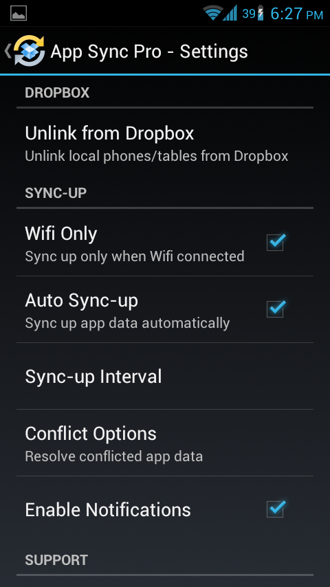App Sync Pro Backup & Restore Apps + Data From Dropbox Using App Sync [ROOT]