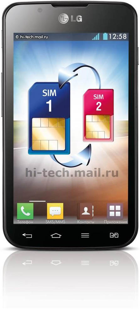 Lg-Optimus-L7-Dual-Black