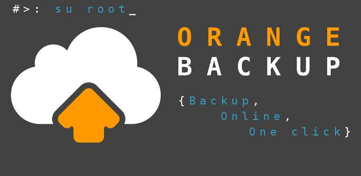 Orange Backup