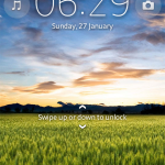 Get Sony Xperia Jelly Bean Lockscreen On Any Xperia Device