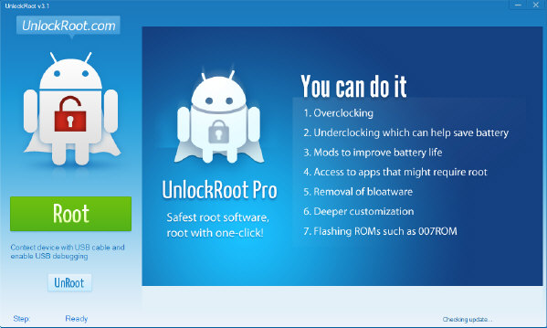 Unlock Root Root LG Optimus Black Running Official ICS Using Unlock Root
