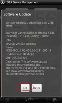 Tunderbolt ICS Update