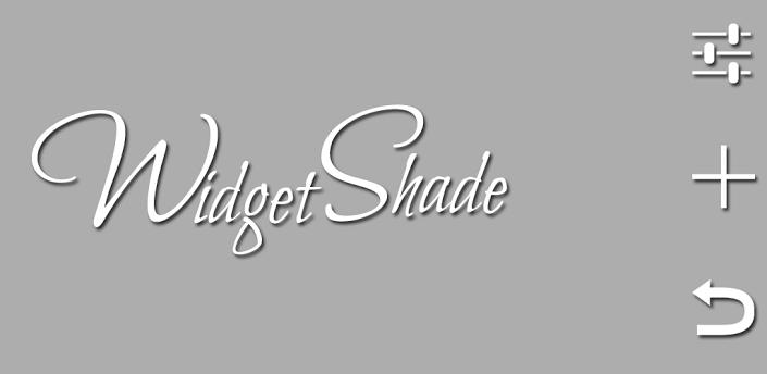 WidgetShade