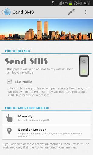 Lite profile