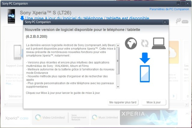 Xperia S JB 2 640x427 Sony Xperia S Gets Official Jelly Bean Update [6.2.B.0.200]