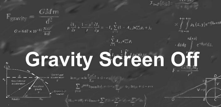Gravity Screen Off
