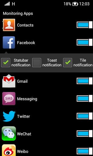 Launcher 8 apps