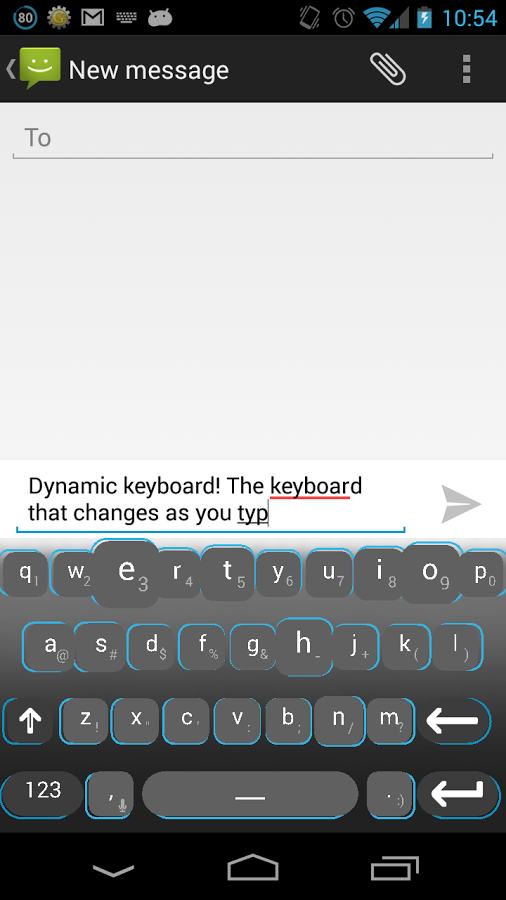 Dynamic-Keyboard