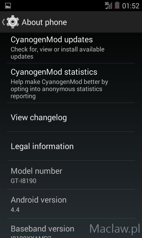 CM11 for Galaxy S3 Mini Unofficial CyanogenMod 11 Android 4.4 Comes to Samsung Galaxy S3 Mini