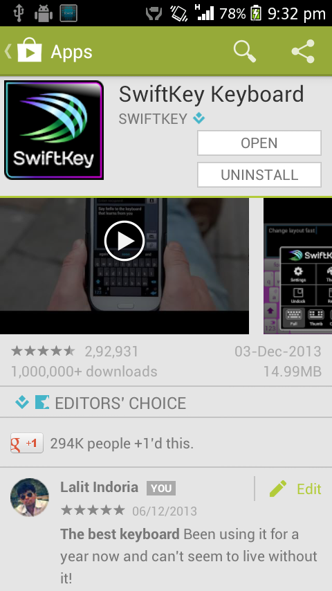 Screenshot 2013 12 06 21 32 42 [APK DOWNLOAD] Google Play Store 4.5.10 With IAP Indicator, Activity Sharing & More