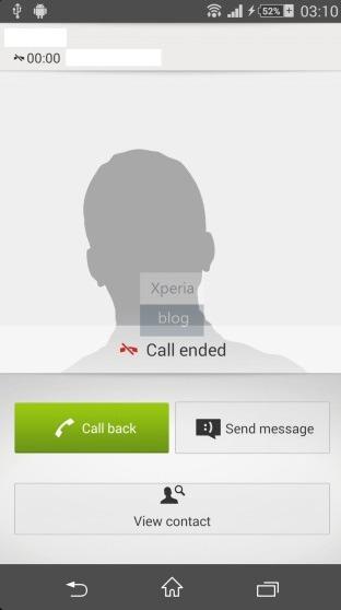 New Dialer Xperia